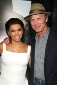 Ed Harris, Eva Longoria — Stock Photo