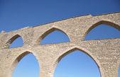 Aqueduct in Morella — Stock Photo