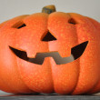 Stock Photo: Ceramic Halloween Pumpkin