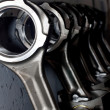 Stock Photo: Piston rods