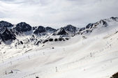 Snowed Mountains in the Pyrenees — Photo