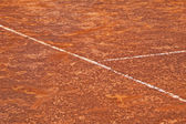 Cancha de tenis — Foto de Stock