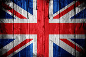 United Kingdom flag whit grunge texture — Foto de Stock