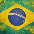 Stock Photo: Brazil flag