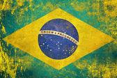 Brazil flag — Stock Photo