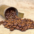 Roasted coffee beans - Stock fotografie