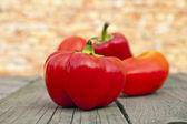 Pimiento rojo fresco — Foto de Stock