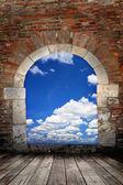 Porta al cielo — Foto Stock