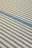Cień linie na asfalcie — Zdjęcie stockowe
