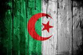 Cezayir bayrağı — Stok fotoğraf