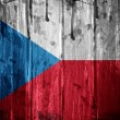 Stock Photo: Czech Republic grunge Flag
