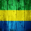 Flag of Gabon — Stock Photo