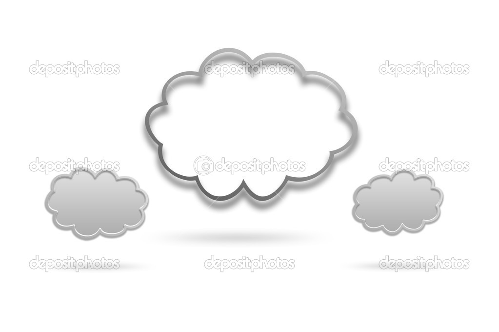 Cloud icon  Stock Photo #17854597