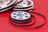 Cine film reels — Stock Photo