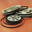 Stock Photo: 8mm cine film