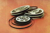 8mm cine film — Stock Photo