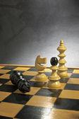 Gry w szachy — Zdjęcie stockowe