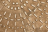 Cast iron manhole — Stock Photo