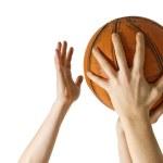 Basketball block — Stock Photo #21745507