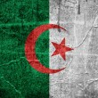 flag of algeria — Stock Photo