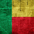 Flag of Benin — Stock Photo