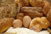 Tasty fresh crunchy bread — Stock Photo