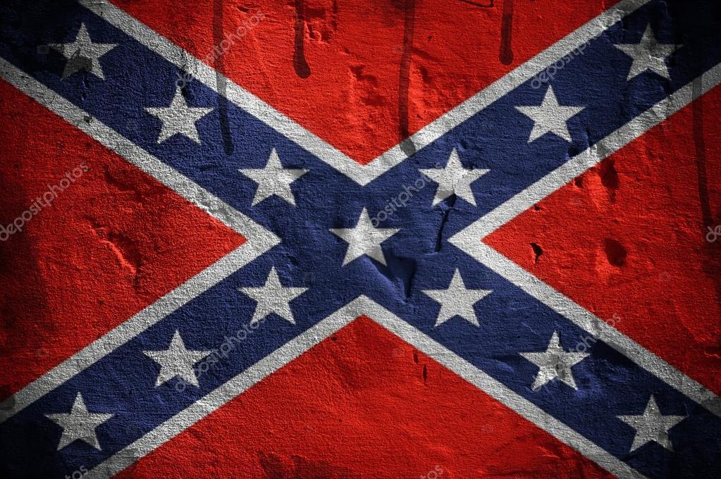 Flagge der Konföderierten Staaten von Amerika — Stockfoto