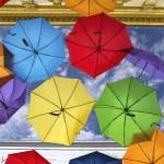 Colorful umbrella street decoration. — Stock Photo #44447271