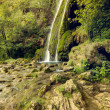 Waterfall in forest in Transylvania, Romania — Stock Photo