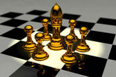 Chess 3D — Stock Photo