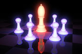 Chess 3D — Stock Photo