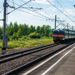 Stock Photo: Electric train