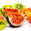 Fresh fruit platter — Stock Photo #13618491