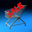 Shopping basket — Stock Photo #15537863