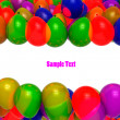 Stock Photo: Festive balloons for birthdays and other celebration
