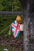 British troops — Stock Photo