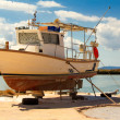 Old rusty boat — Stock Photo