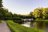 Park in Pavlovsk Russia — Stock Photo