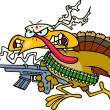������, ������: Cartoon Rambo Turkey