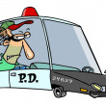 Cartoon Squad Car — Stock Vector #13916684