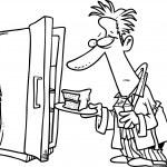 Cartoon Midnight Snack — Stock Vector #13918488