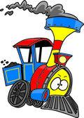Train Engine — Stock Vector