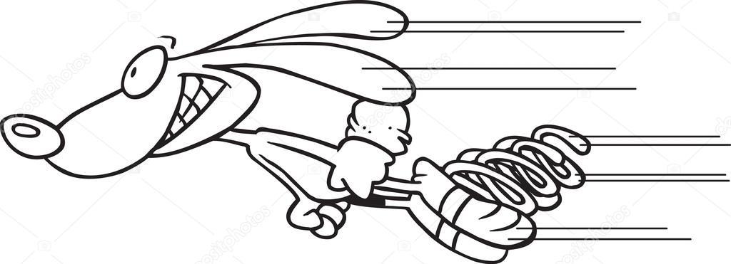 Fast Rabbit Cartoon