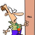Cartoon Man Confused — Stock Vector #13941185