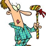 Cartoon Golf Club Gift — Stock Vector #13948639