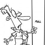 Cartoon Man Confused — Stock Vector #13948803