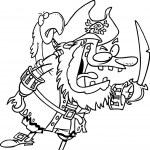 Cartoon Pirate Captain — Stock Vector #13949189