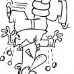 Cartoon Tax Man — Stock Vector #13949449