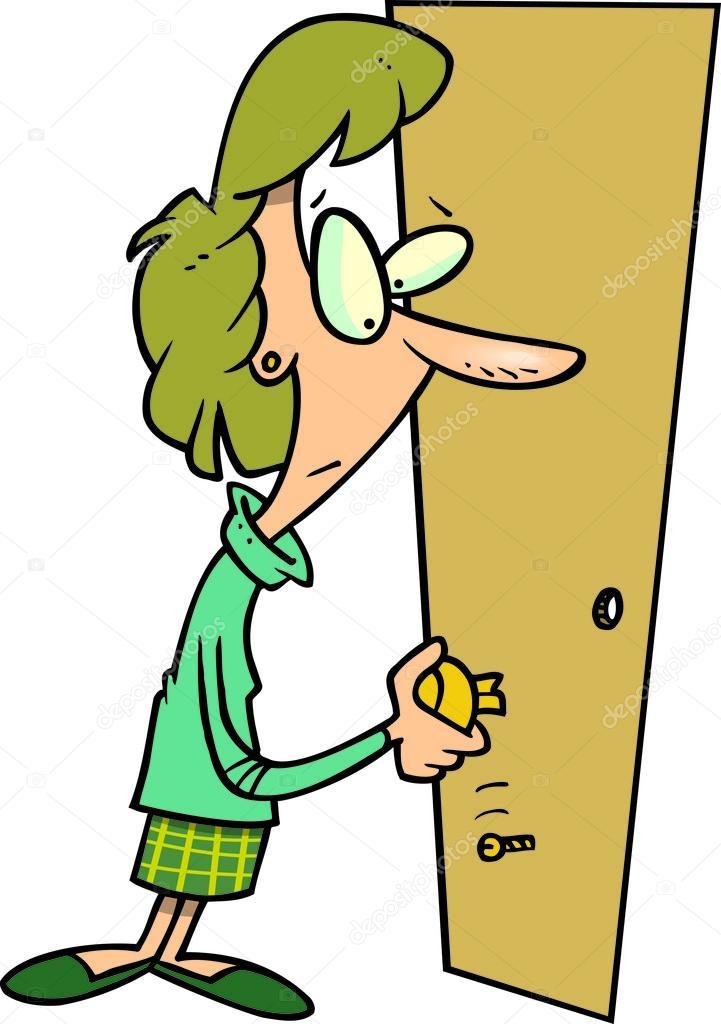 Poign e de porte cass e de dessin anim image - Poignee de porte cassee porte bloquee ...