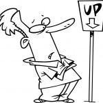 Cartoon Man Confused — Stock Vector #13950691